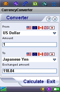 Currency Converter for P800/P900