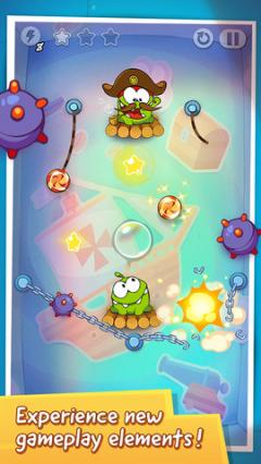 Cut the Rope: Time Travel for iPhone