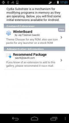 Cydia Substrate for Android