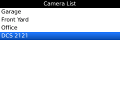 D-Link Cams for BlackBerry