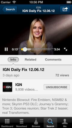 Dailymotion for iPhone/iPad