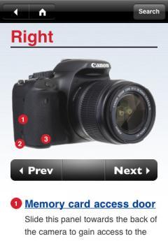 David Busch's Canon EOS Rebel T2i/550D Companion App