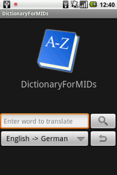 DictionaryForMIDs (Android)