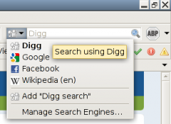 Digg Search Plugin - Firefox Addon