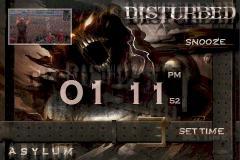 Disturbed Alarm Clock