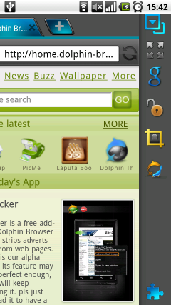 Dolphin Browser HD for Android