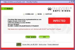 Dr.Web LinkChecker - Firefox Addon