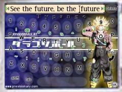 Typango - Full Screen Keyboard - DragonBall Z Skin