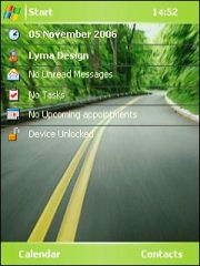 Drive Theme for Pocket PC