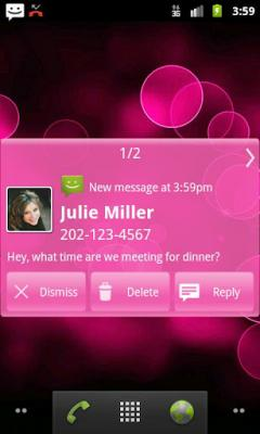 Droid Notify - Simply Pink Theme
