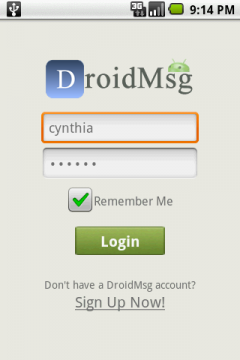 DroidMsg