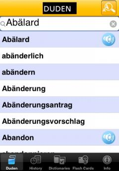 Duden - German Spelling Dictionary (iPhone/iPad)