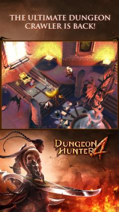 Dungeon Hunter 4 for iPhone/iPad