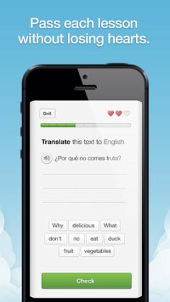 Duolingo for iPhone/iPad