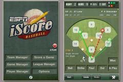 iScore Baseball / Softball Scorekeeper for iPhone