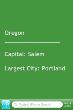 Easy U.S. State Capitals