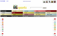 Eccellio Sports - Search Engine - Firefox Addon