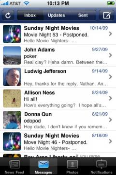 Echofon for Facebook (iPhone)