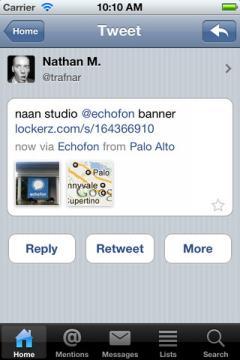 Echofon for Twitter (iPhone/iPad)