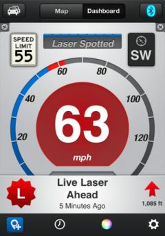 Escort Live Radar for iPhone