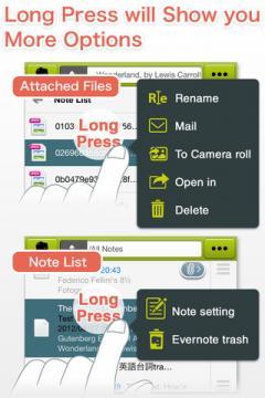 EverCrane for iPhone