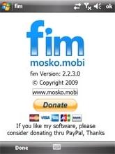 FIM Facebook Chat (Windows Mobile)