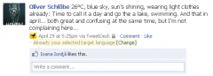 Facebook Translate - Firefox Addon
