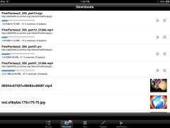 Falcon Downloader and Player for iPad