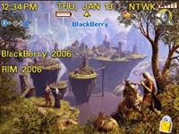 Fantasy Theme for BlackBerry 8800