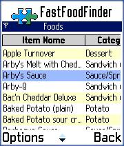 FastFoodFinder for Series 60