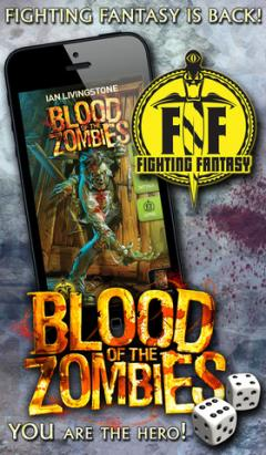 Fighting Fantasy: Blood of the Zombies for iPhone/iPad