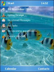 Fish Theme for Pocket PC