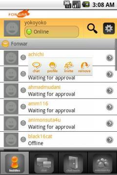 Fonwar IM (Android)