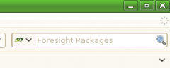 Foresight Linux Package Search - Firefox Addon