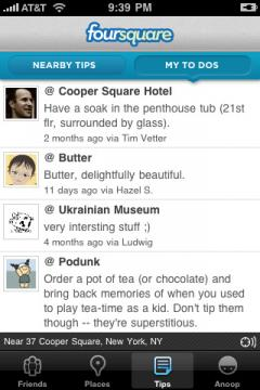 Foursquare (iPhone)