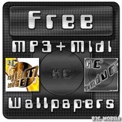 Free MP3 Midi Wallpapers for Pocket PC