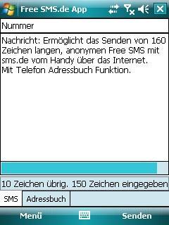 Free SMS.de App