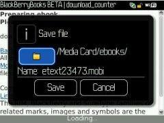 FreeBooks for BlackBerry