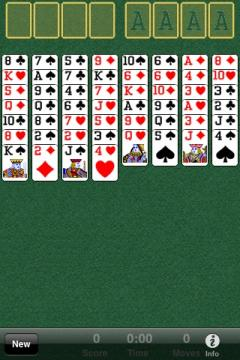 FreeCell for iPhone/iPad