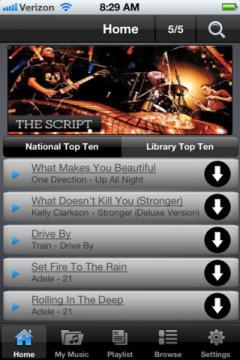 Freegal Music for iPhone/iPad