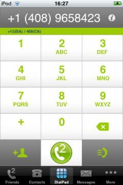 FriendCaller Instant VoIP