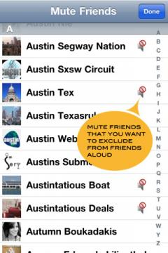 Friends Aloud Lite for iPhone