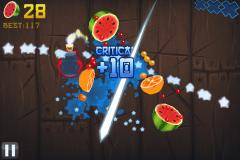 Fruit Ninja Free for iPhone