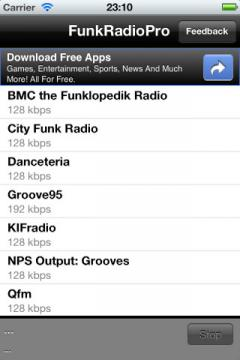 Funk Radio Pro for iPhone/iPad