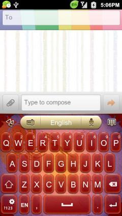 GO Keyboard Festival Lantern Theme