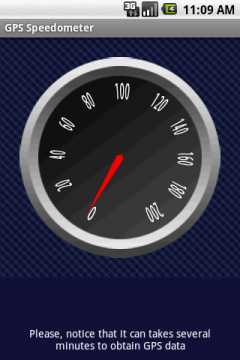 GPS Speedometer (Android)