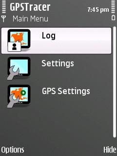 GPS TRacer (Symbian)