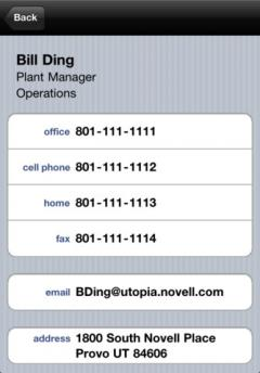 GW Contacts for iPhone/iPad
