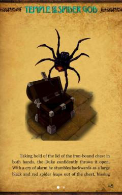 Gamebook Adventures 7: Temple of the Spider God for Android