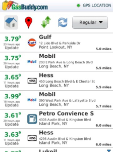 GasBuddy for BlackBerry